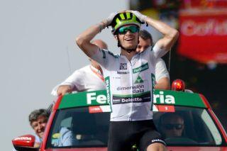 Ben King at the 2018 Vuelta a España