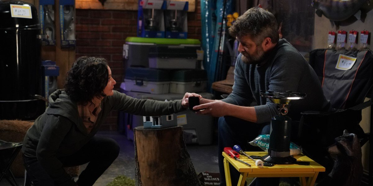 darlene proposing to ben on the conners season 3 finale