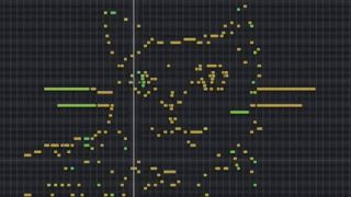 MIDI art cat