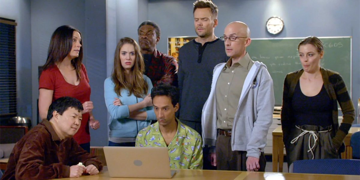 Community Season 6 cast