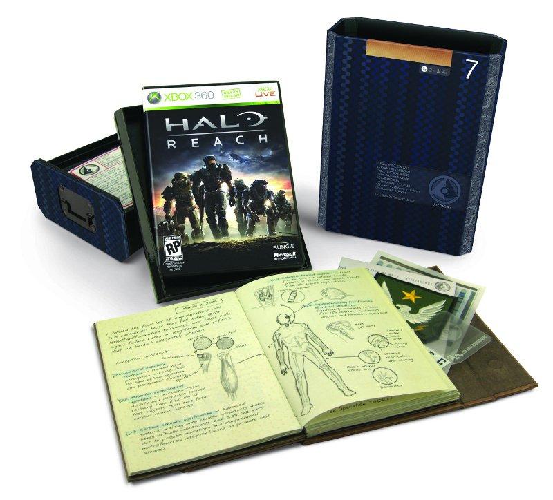 Halo: Reach Limited Edition, Legendary Edition Announced #12819