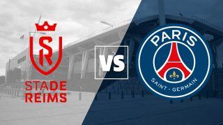 Reims vs PSG badges