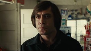 Javier Bardem as Anton in No Country for Old Men