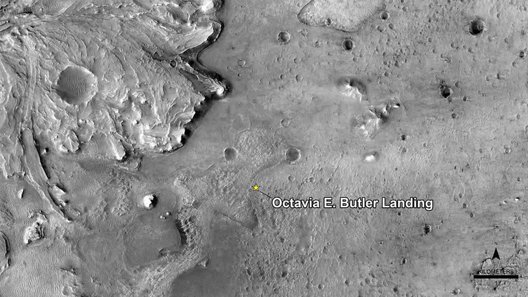 NASA names Perseverance rover's Mars touchdown site 'Octavia E. Butler Landing'