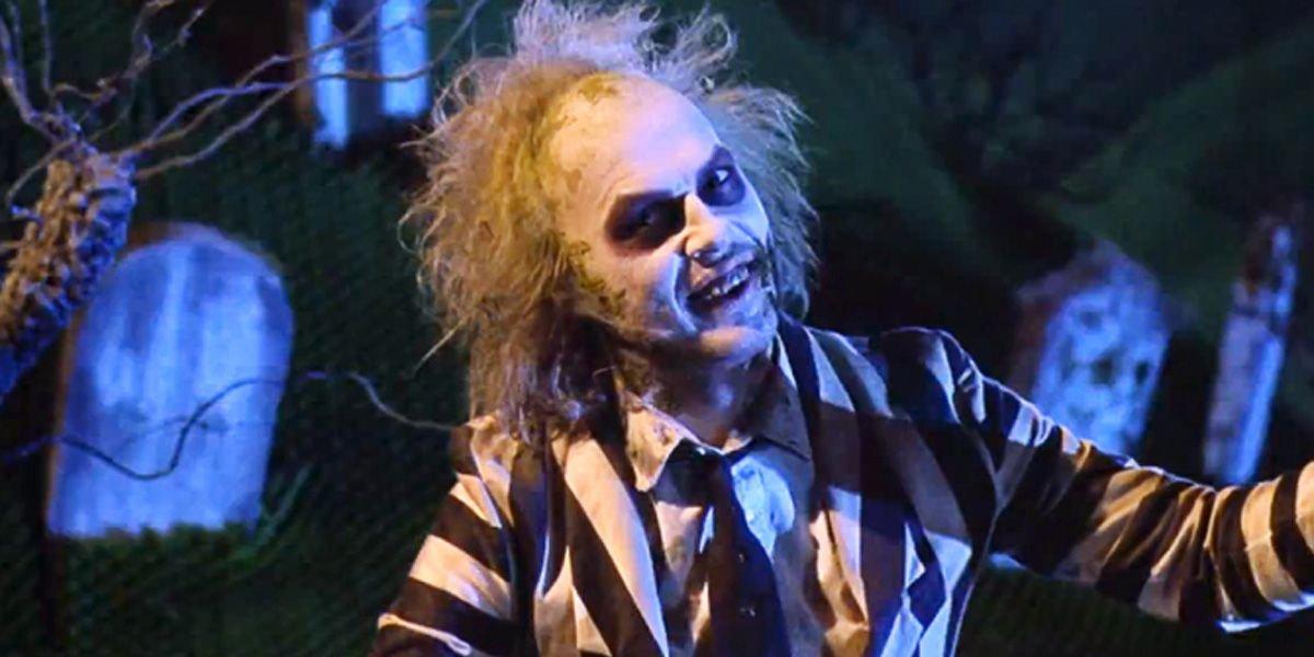 Michael Keaton in Beetlejuice