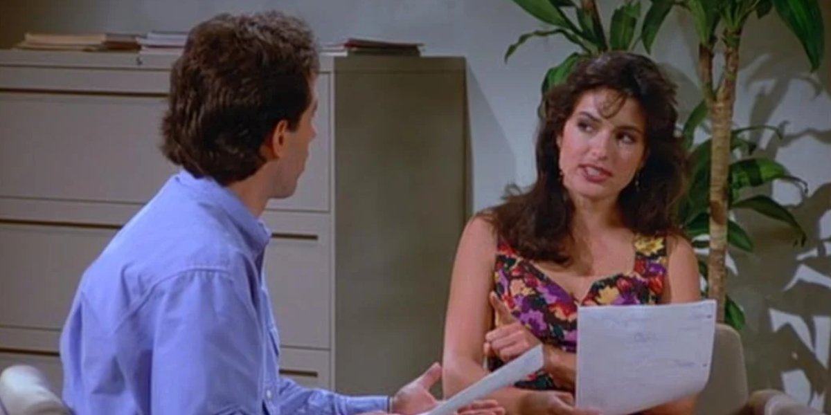 Mariska Hargitay on Seinfeld