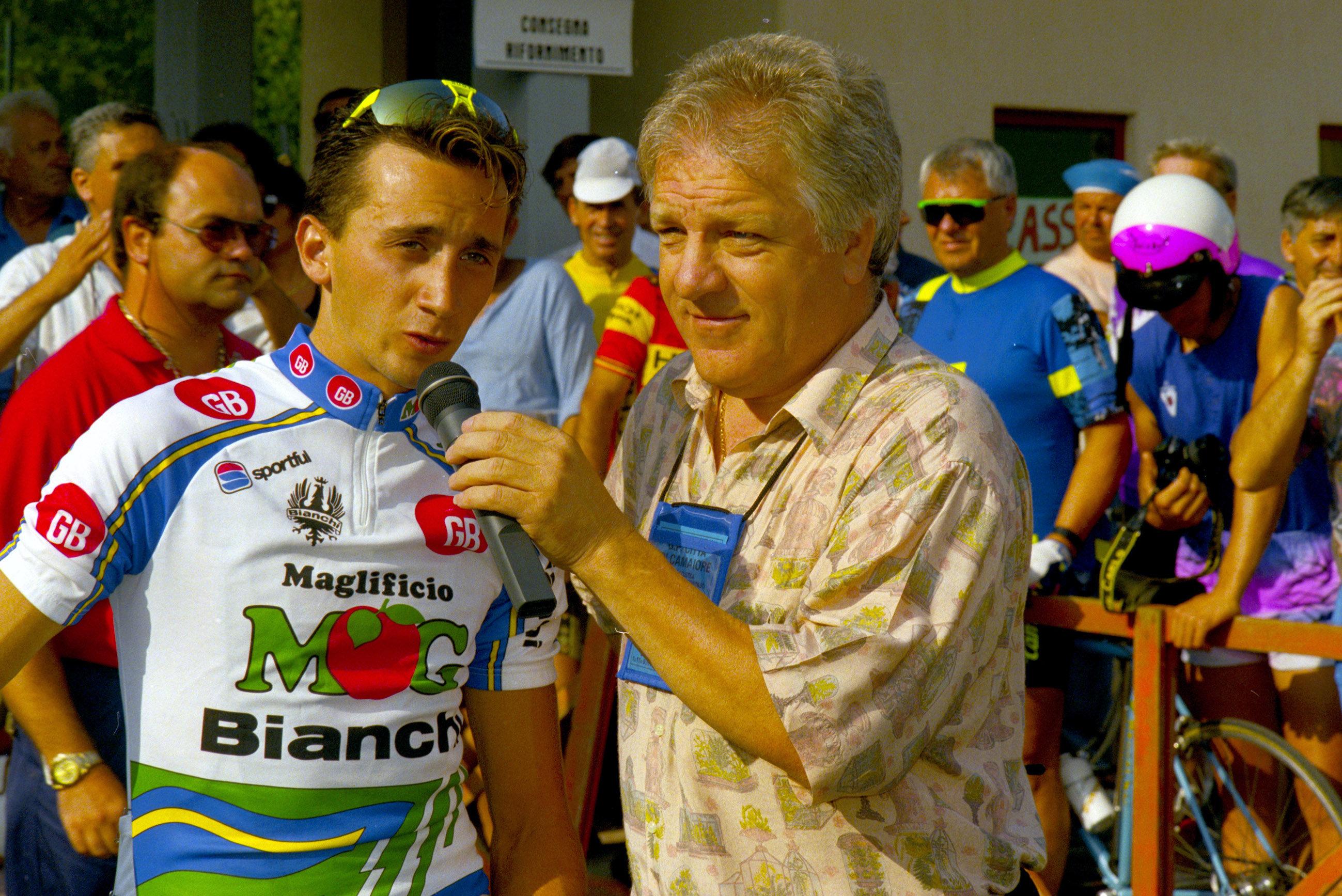Davide Rebellin at the GP Camaiore in 1992.