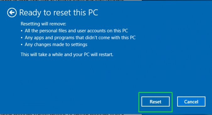 How To Reset Your Windows 10 Pc Laptop Mag