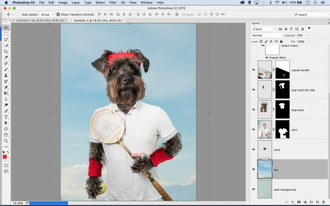 Photoshop tutorials: compositing images