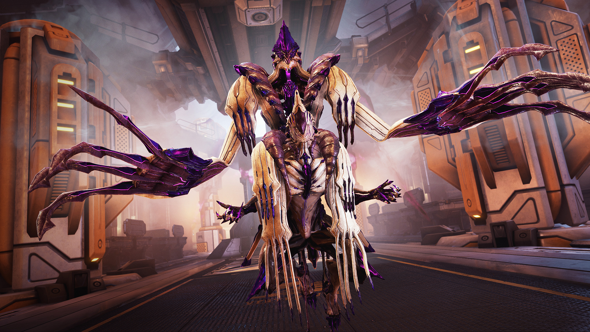 Meet the newest Warframe: a ghastly space captain that reaps souls