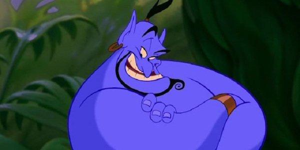 Robin Williams' Genie in Aladdin