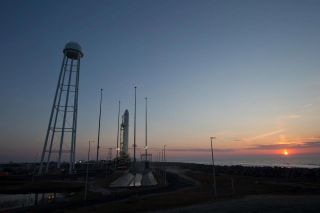 NASA's Wallops Flight Facility will see the first launch of an Orbital Sciences Antares rocket on April 17, 2013.