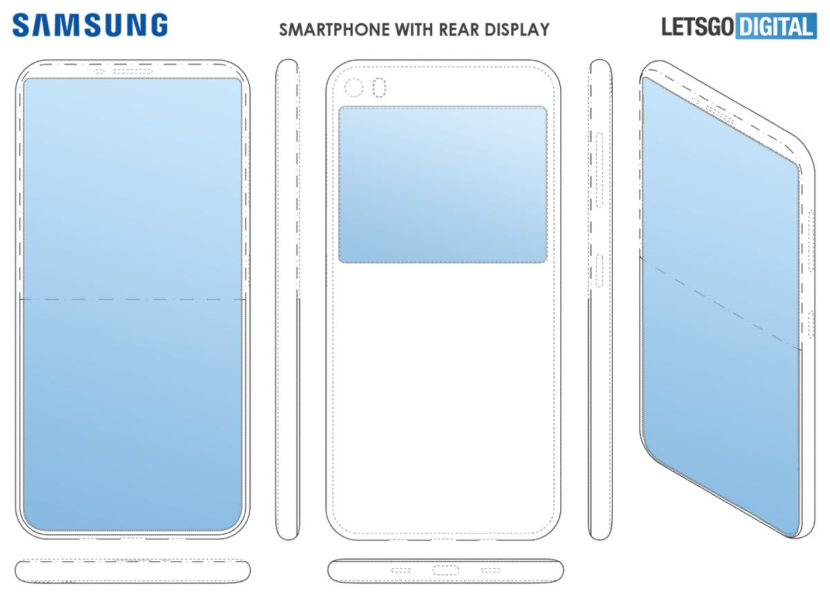 Forget the Galaxy Fold: See Samsung's New Dual-Screen Phone Design