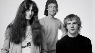 Geddy Lee, Neil Peart and Alex Lifeson in 1980
