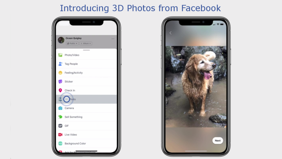 How to Post 3D Photos on Facebook | Tom's Guide