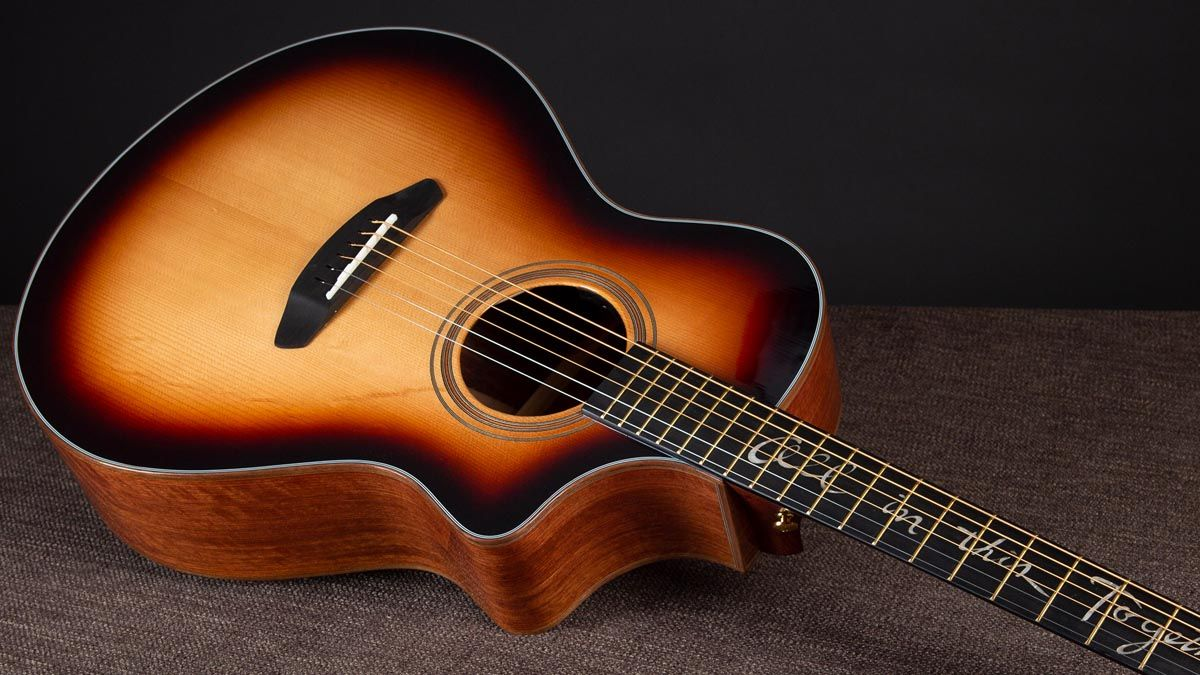 Breedlove Jeff Bridges Amazon Concert Sunburst CE Review