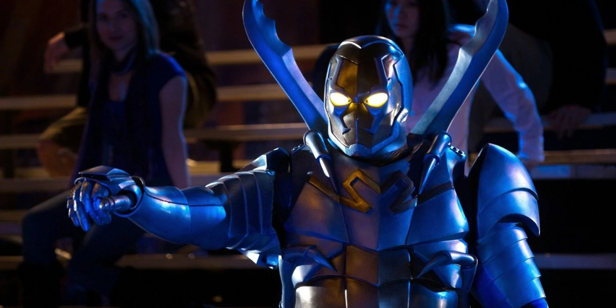 Jaren Brandt Bartlett as Blue Beetle on Smallville