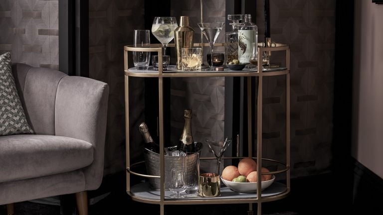 John Lewis & Partners drinks trolley