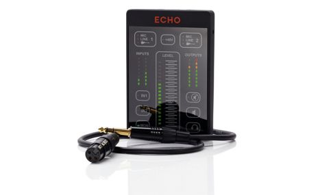 The Echo 2 is a USB interface that shuns conventional controls for a touch based design