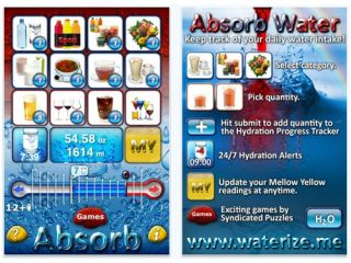 Absorb water app