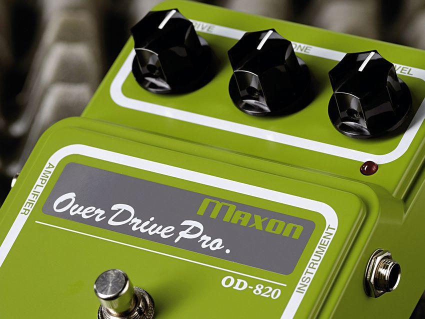 maxon od 820 overdrive pro pedal musicradar. Black Bedroom Furniture Sets. Home Design Ideas