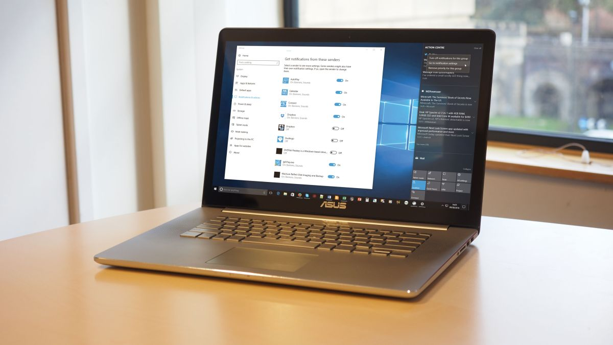 How to use Windows 10 Anniversary update's improved Action Center