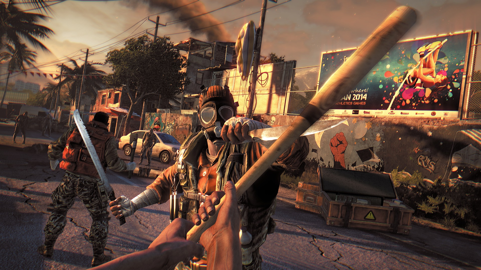 Dying Light Gameplay Video At Max Settings
