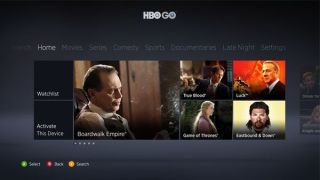 HBO Go Xbox 360