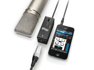 iRig Pre offers mic connectivity to your iOS device.