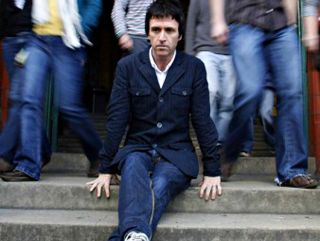 Professor Johnny Marr at Salford University