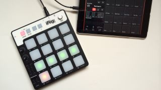 Should you be tapping an iRig Pads rather than a touchscreen