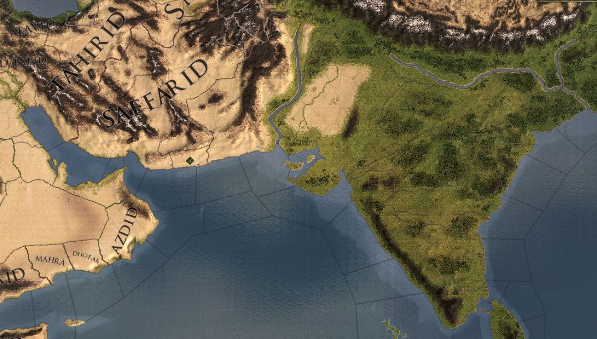 Crusader Kings 2 Rajas Of India First Look Massive Map