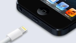 iPhone lightning connector