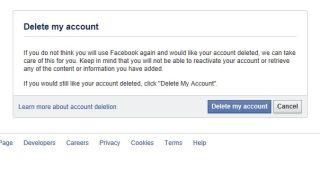 How to delete your facebook account techradar how to delete your facebook account ccuart Image collections