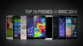 Top 10 smartphones of MWC 2014
