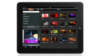 rara music streaming on iPad