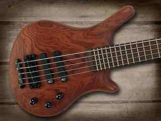 Warwick Thumb five string bass first produced in the 1980s