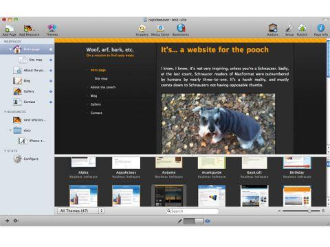 Realmac Software RapidWeaver 5