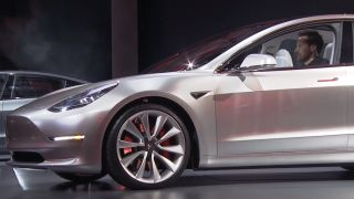 Tesla Model 3 launch event