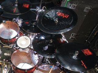 Slipknot S Joey Jordison S Drum Setup In Pictures Musicradar