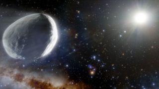 AN illustration of the massive comet Bernardinelli-Bernstein