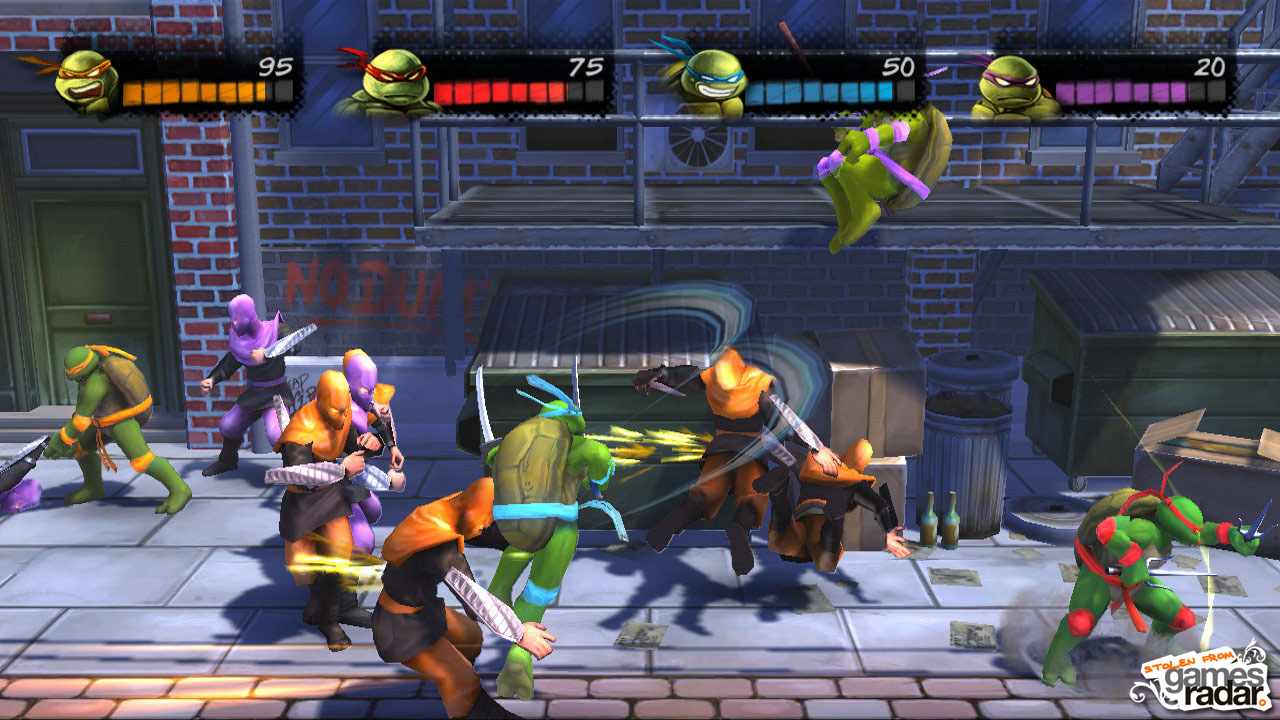 Teenage Mutant Ninja Turtles Turtles In Time Re Shelled Review Gamesradar