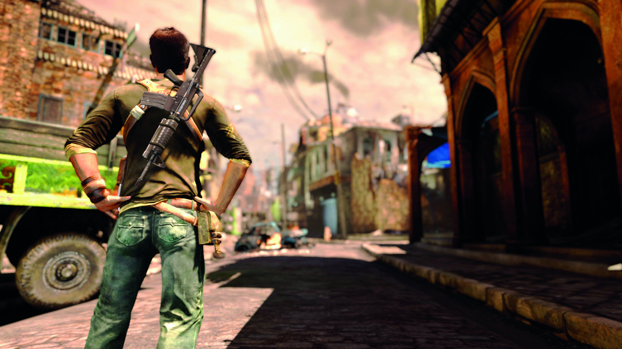 Uncharted 2 Among Thieves Hands On Gamesradar