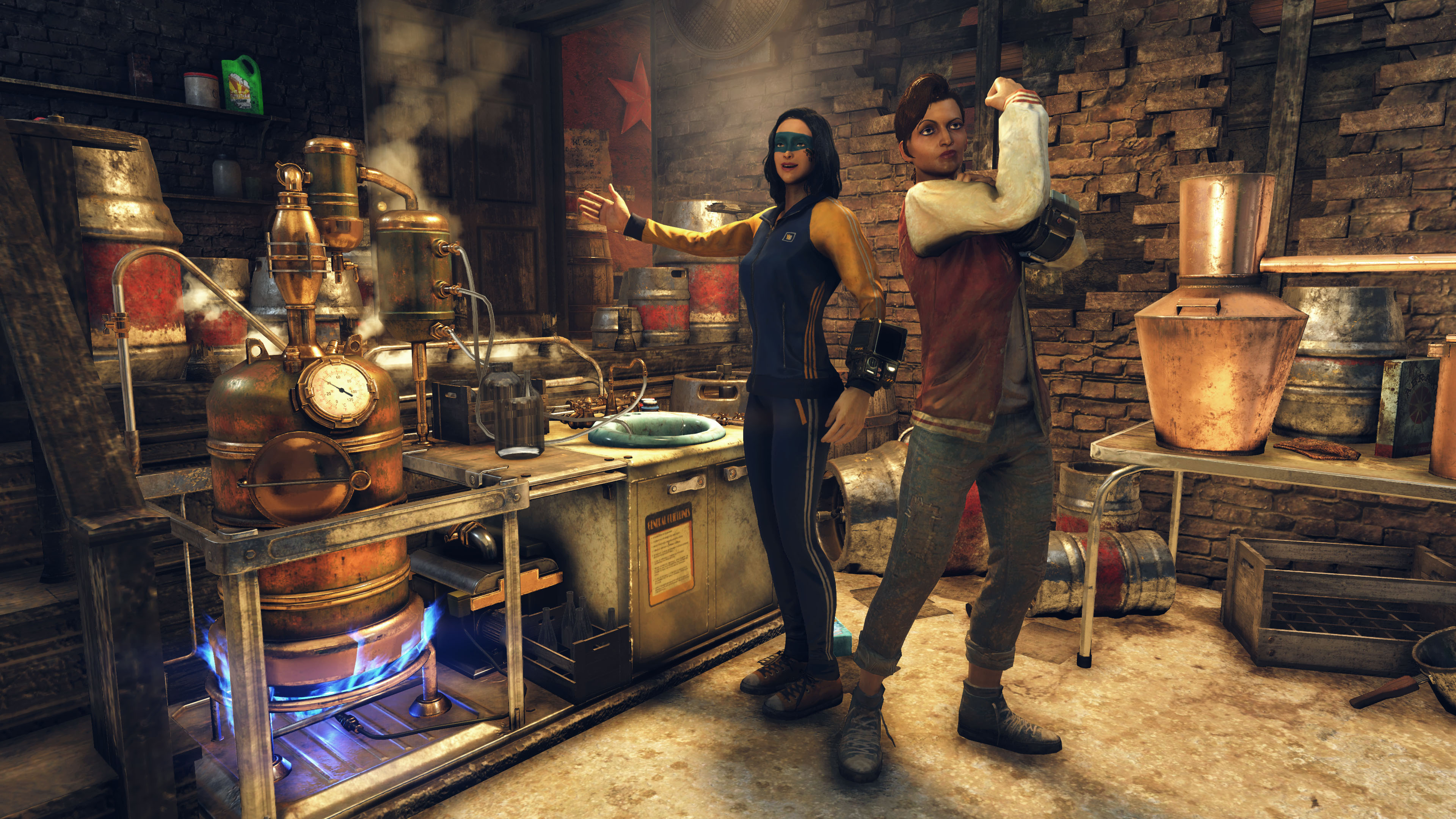 Fallout 76's drinky update for boozehounds detailed