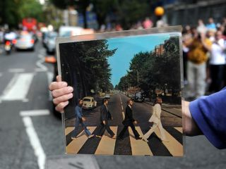Fans flocked to Abbey Road in 2009 to celebrate the 40th anniversary of the Beatles album of the same name.