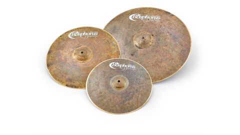 All of the Master Vintage range cymbals bear the scars of their hand-hammering proudly