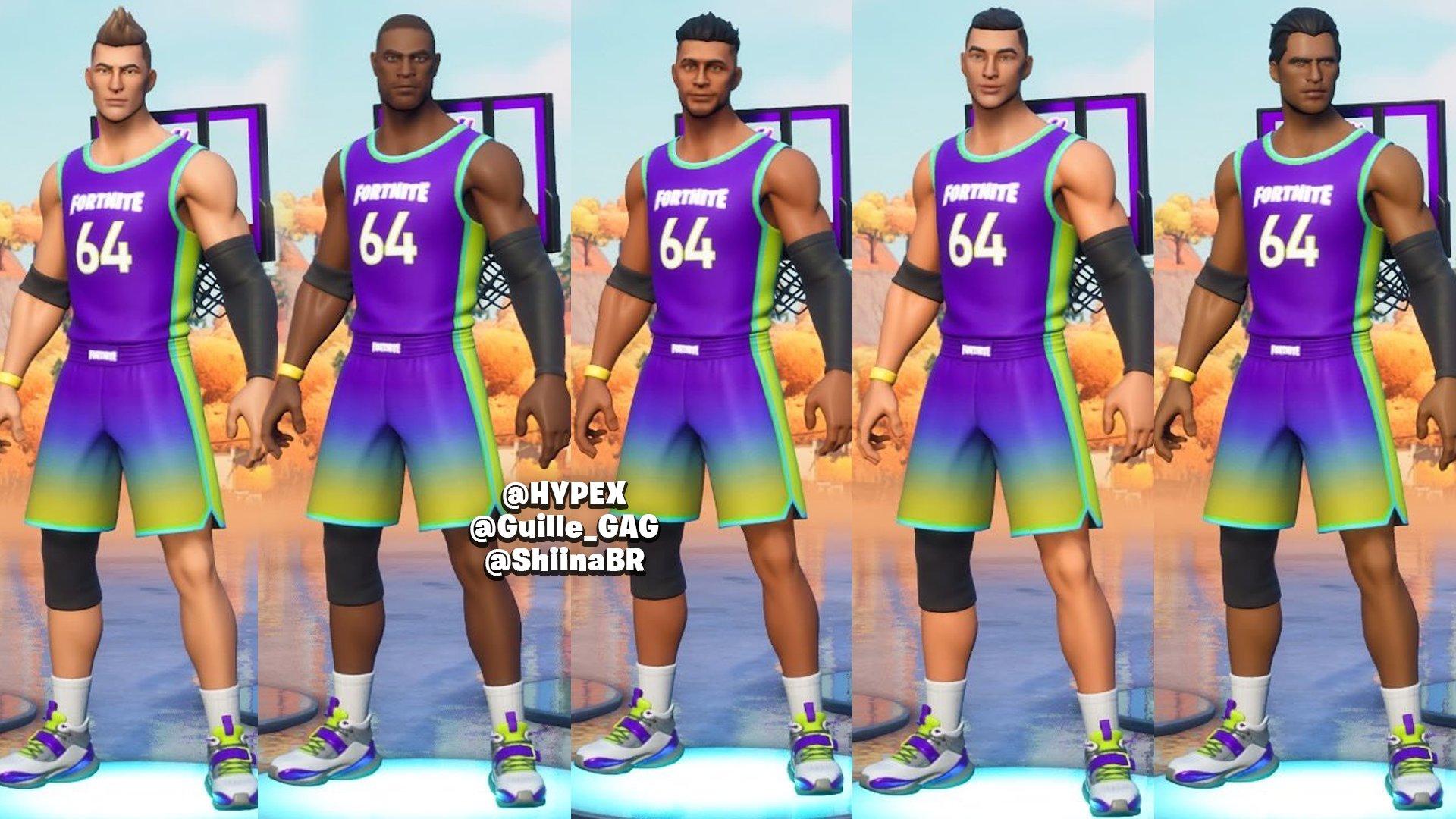 Fortnite NBA skins