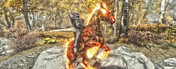 Skyrim se best horse mod
