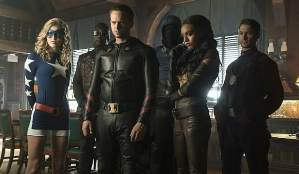 Legends of Tomorrow Justice Society