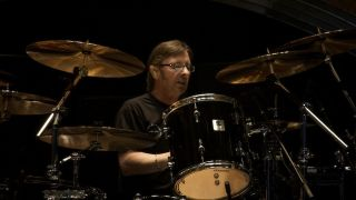Rudd at the kit for AC/DC